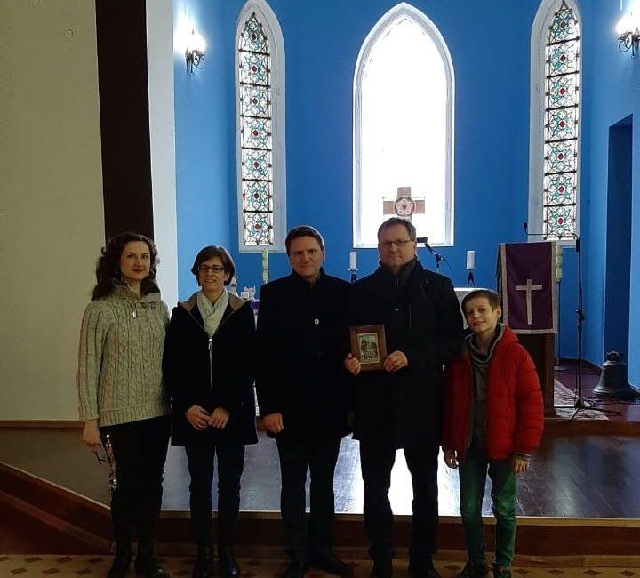 Посол Германии в Беларуси посетил Лютеранскую Церковь в Гродно